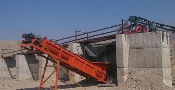 spiral sand washer
