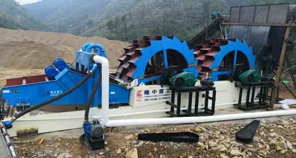 kaolin production