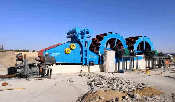 Sand Washing Machines In China