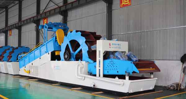 river sand dredging and sand washing plant equipment
