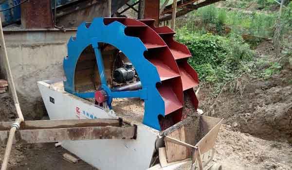 LZZG Wheel Sand Washer