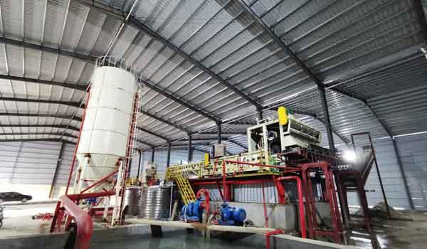 sand washing wastewater treatment