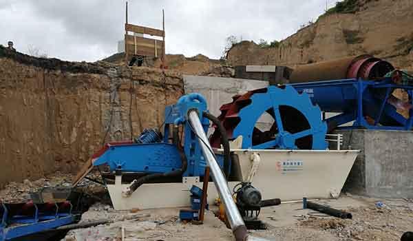 sand washing equipment